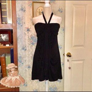 White House Black Market Black Sundress